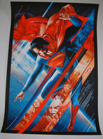Martin Ansin Superman Man of Steel Movie Poster Mondotees 2013