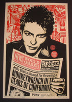 Shepard Fairey Jello Biafra Art Print 2014 Glen E. Friedman