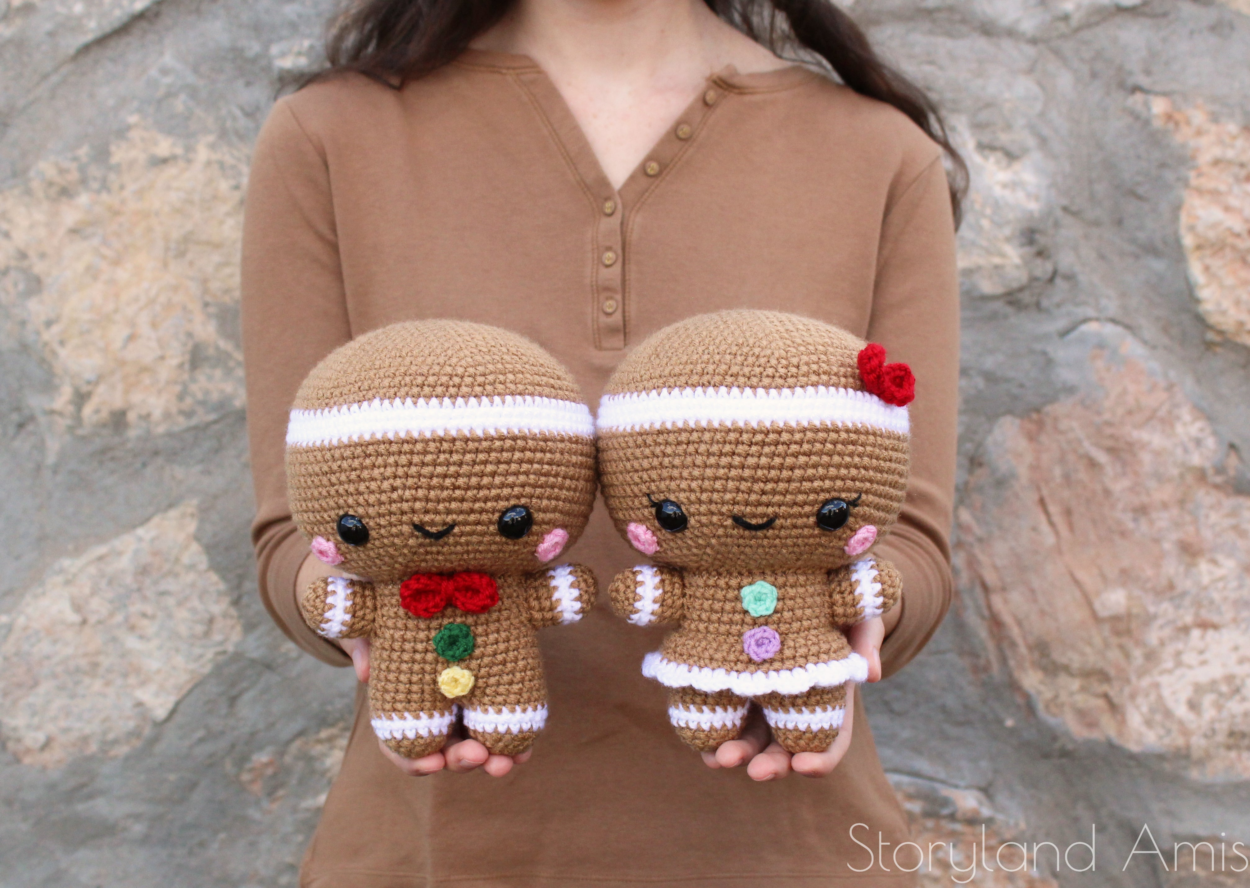 Storyland Amis-Sugar and Spice the Gingerbread Twins Pattern