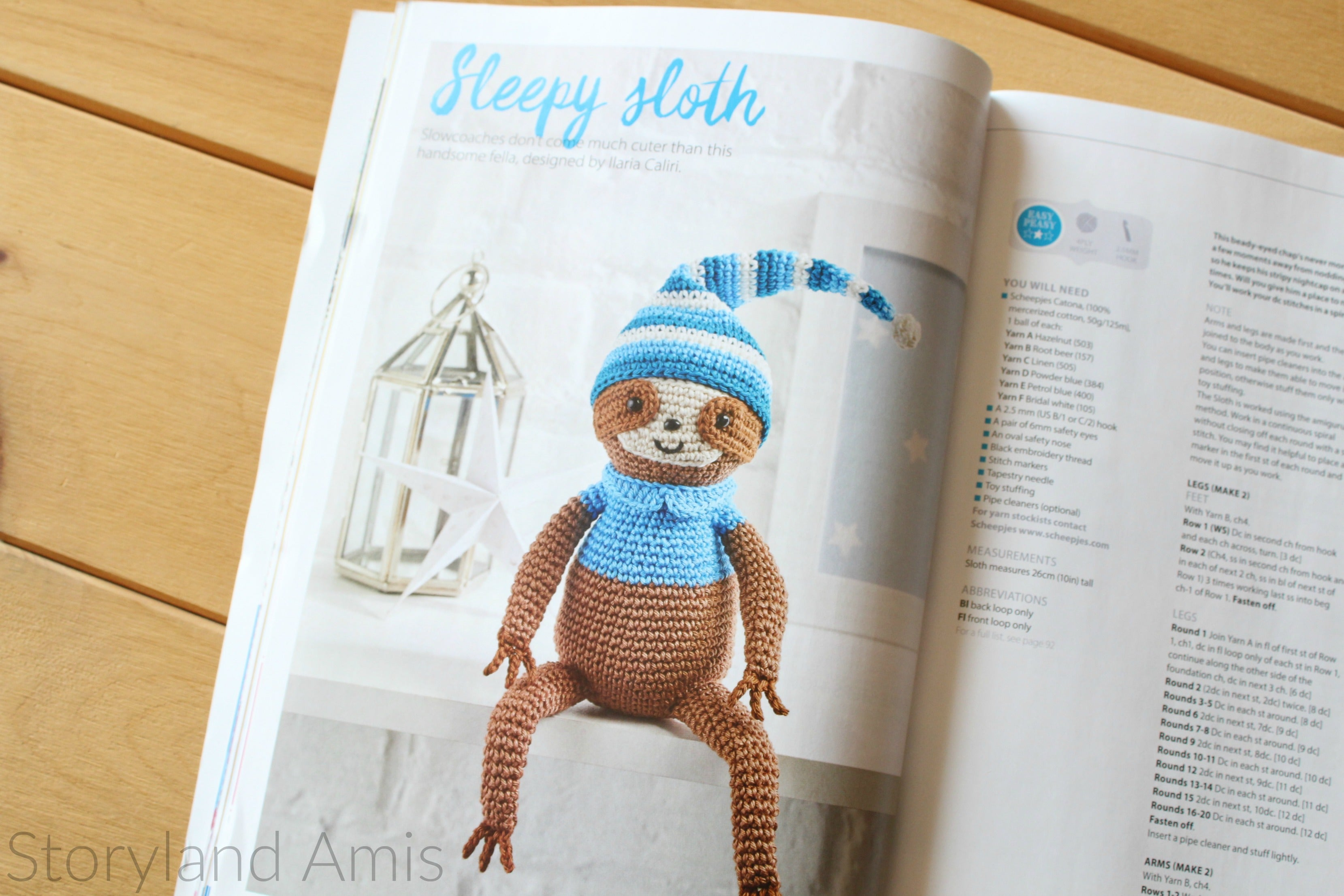 Storyland Amis, Simply Crochet Feature, Giveaway 2