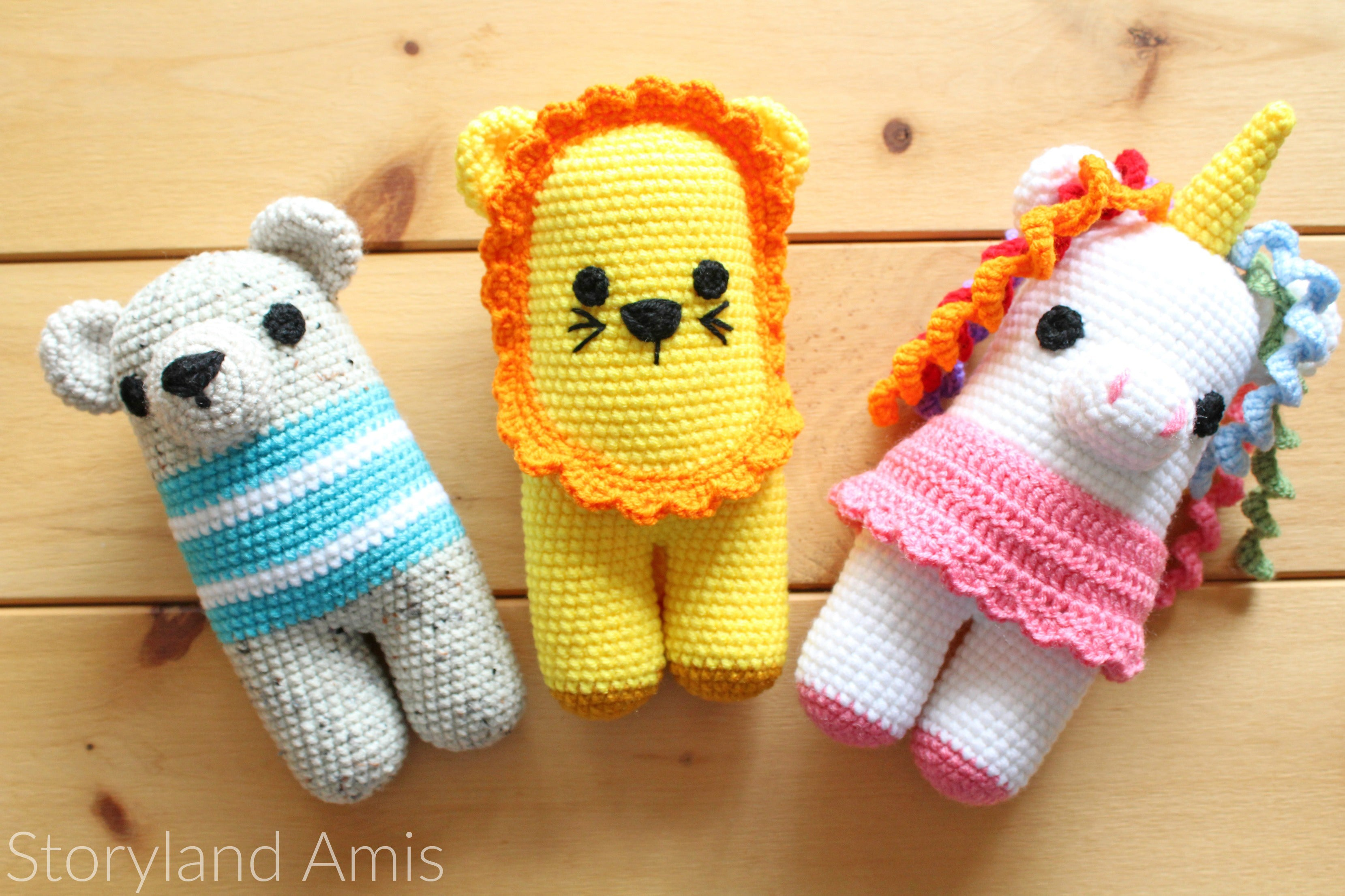 Storyland Amis, Toys for Syrian Refugee Children, Chubby Knots Crochet Interview