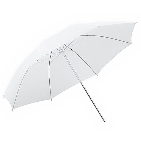 "Phot-R® 20"" Translucent/White Collapsible Umbrella"