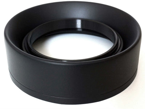 Phot-R® 49mm Rubber Wide-Angle Multi-Lens Hood