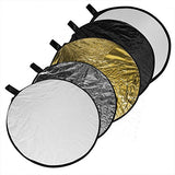 Phot-R® 80cm Collapsible 5-in-1 Studio Reflector