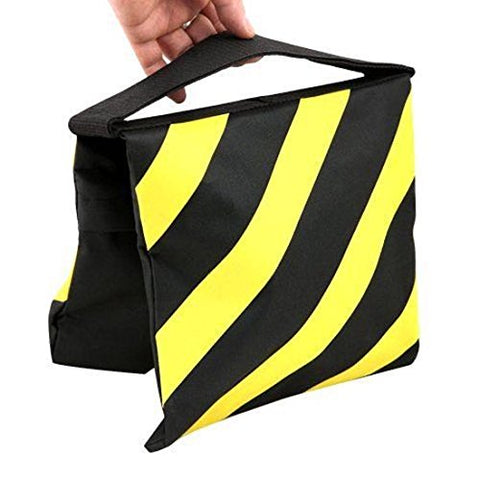 Phot-R® Saddle Sandbag - Black/Yellow