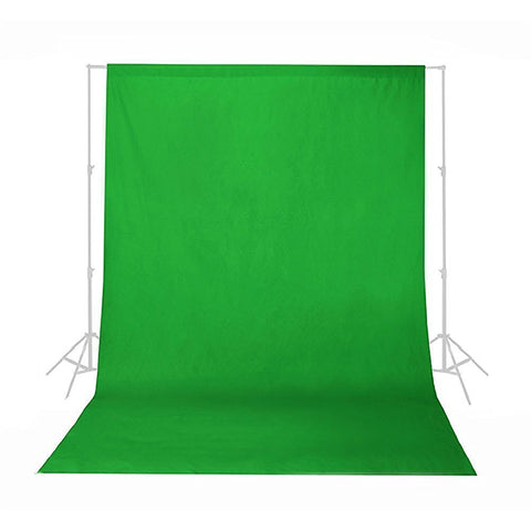 Phot-R® Cotton Muslin Backdrop (3 x 6m, Green)