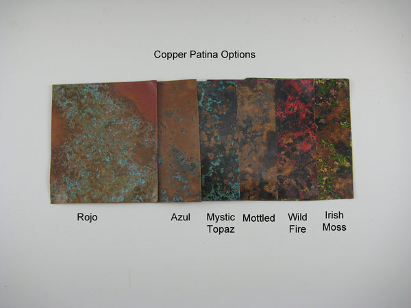 Copper Patina Options