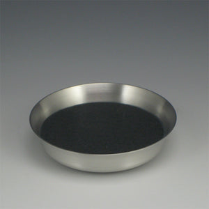 Pewter Wine Bottle Coaster with Felt Insert