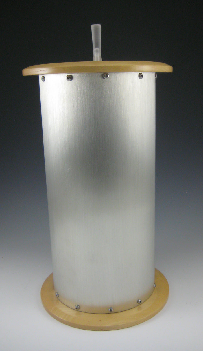 NEW: Pewter & Maple Adult Urn