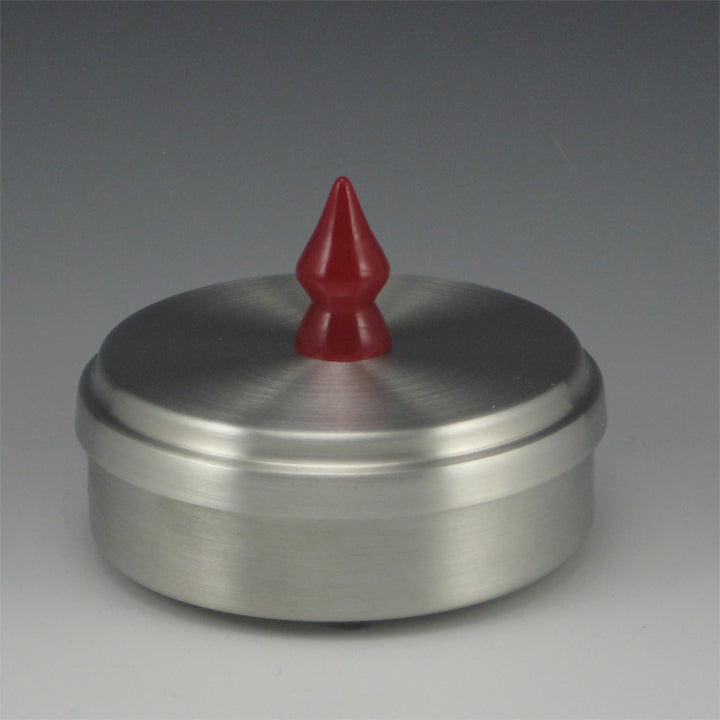 Round Pewter Jewelry/Keepsake Box