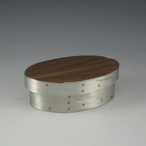 Shaker Box, Size 1 (Pewter & Walnut)
