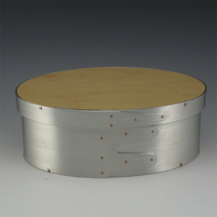 Shaker Box, Size 3 (Pewter & Maple)