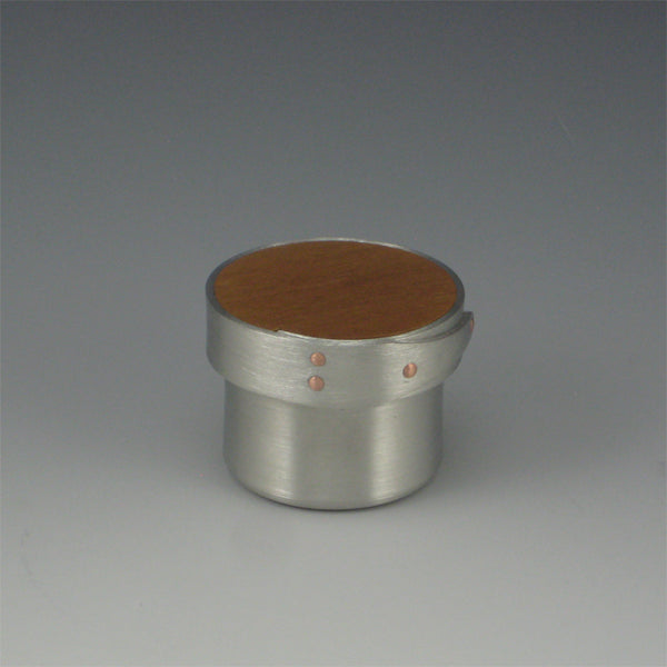 Shaker Ring Box (Pewter & Cherry)