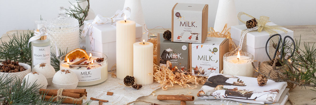 Christmas Candles, Soy Melts and Gifts