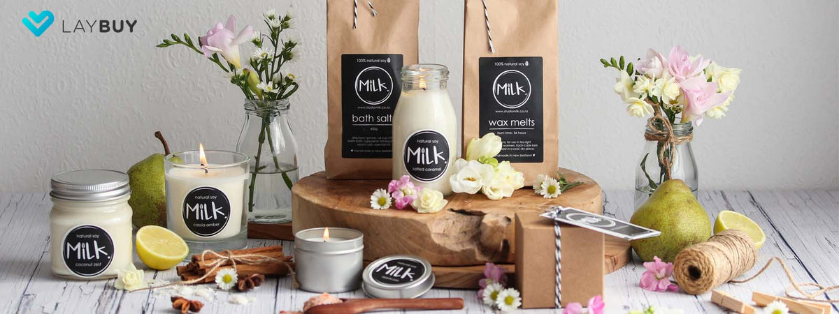 candles nz wax melts diffusers studio milk