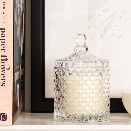 Candle Crystal Glass Studio Milk
