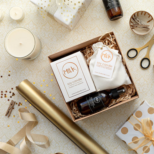 Gold Gift Box Wedding Gift