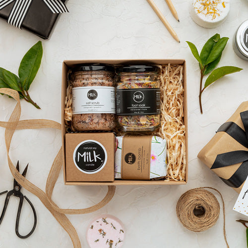 Studio Milk Kraft Gift Box