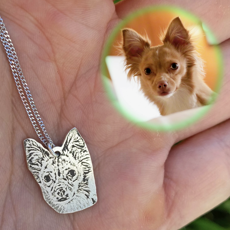 Engraved Pet Necklace