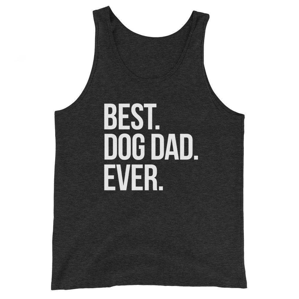 Best Dog Dad Ever Tank Top