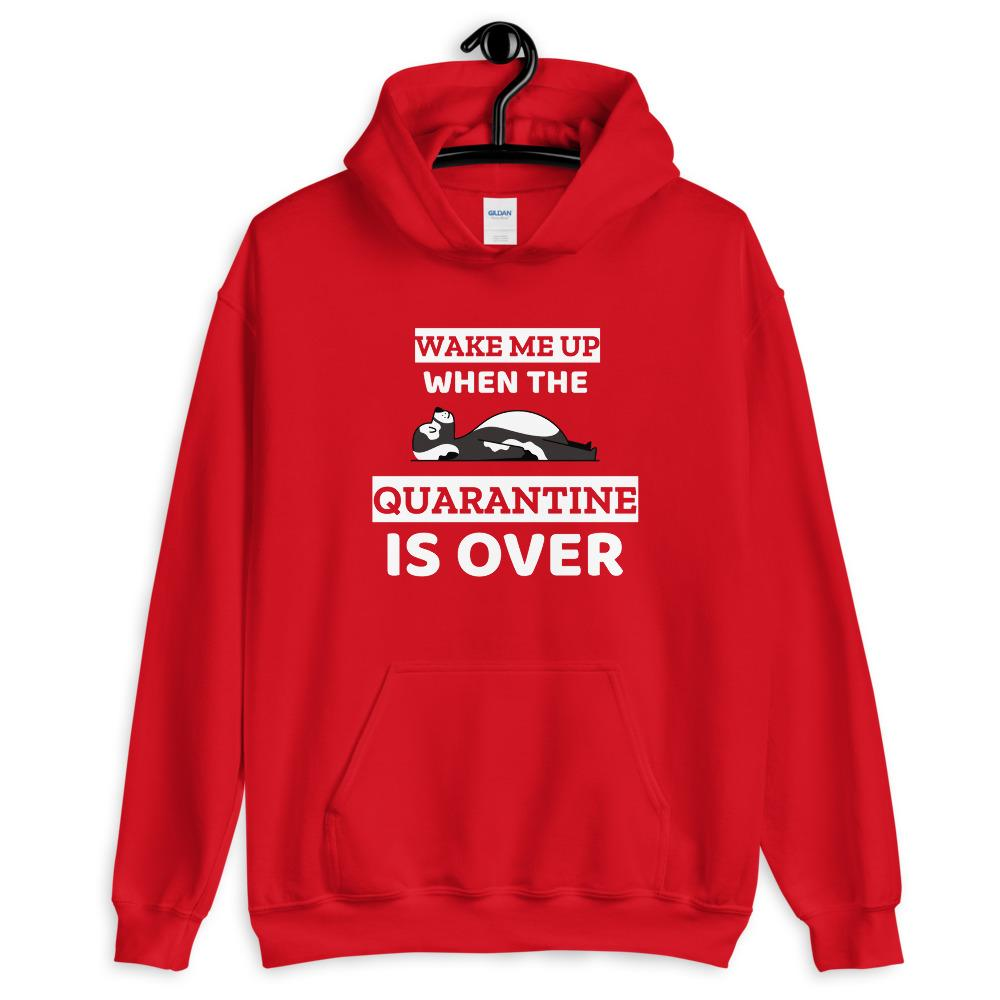 Wake Me Up When The Quarantine Is Over Hoodie