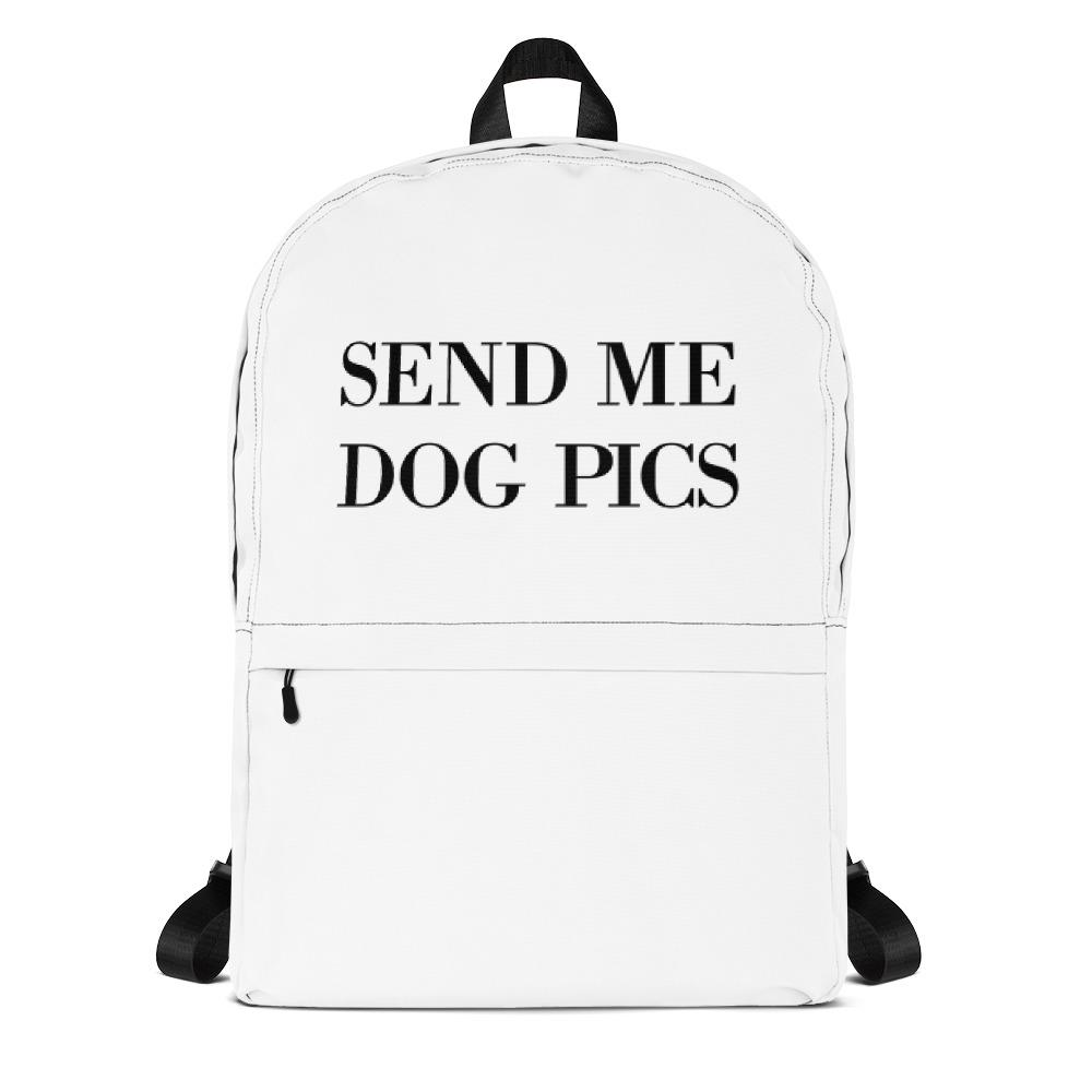 Send Me Dog Pics Backpack