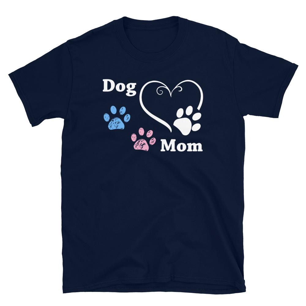Dog Mom Heart & Paws T-Shirt