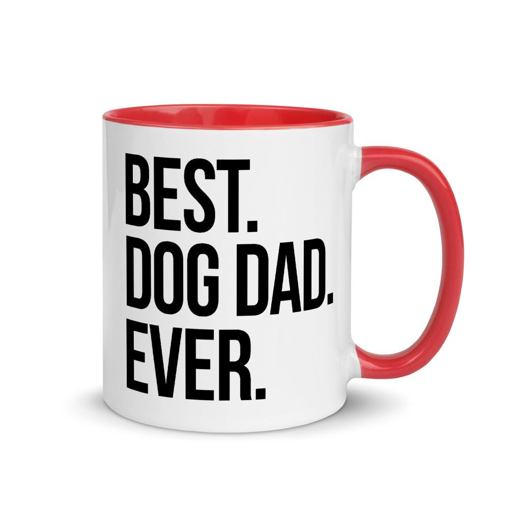 Best Dog Dad Ever Coffee Mug