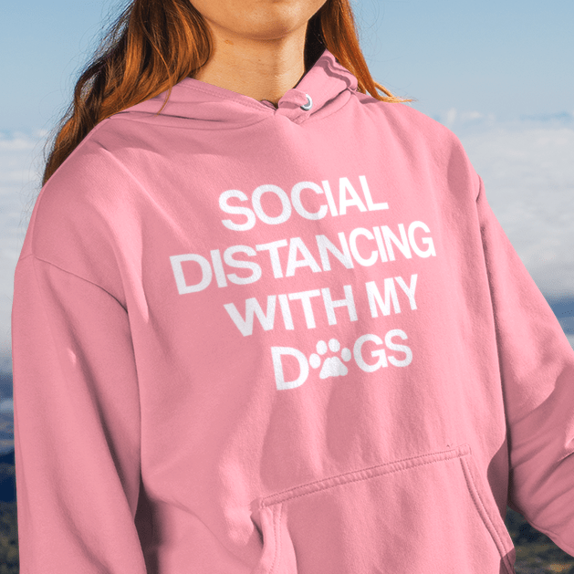 Social Distancing Hoodie (Multiple Dogs)