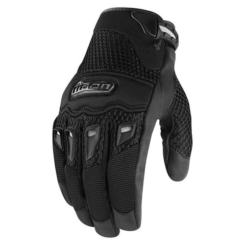 Image of Icon Gloves S / Black Icon Twenty Niner Motorcycle Gloves