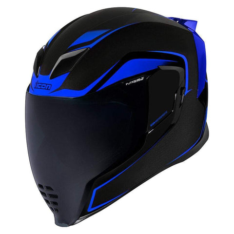 Image of Icon Helmets Icon AirFlite Crosslink - Blue