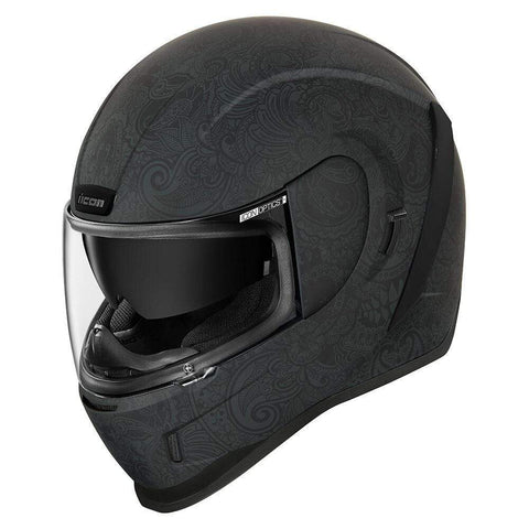 Image of Icon Helmets XS / BLACK Icon Chantilly Airform Motorcycle Helmet