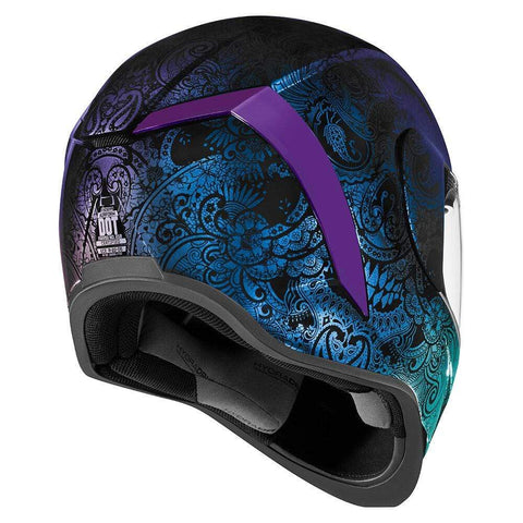 Icon Helmets Icon Airform Chantilly Opal Motorcycle Helmet