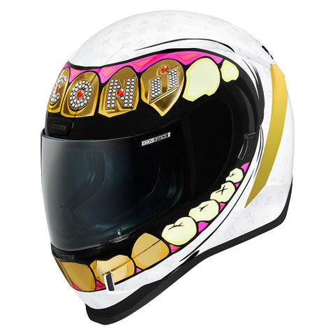Image of Icon Helmets Icon Airform Grills Motorcycle Helmet