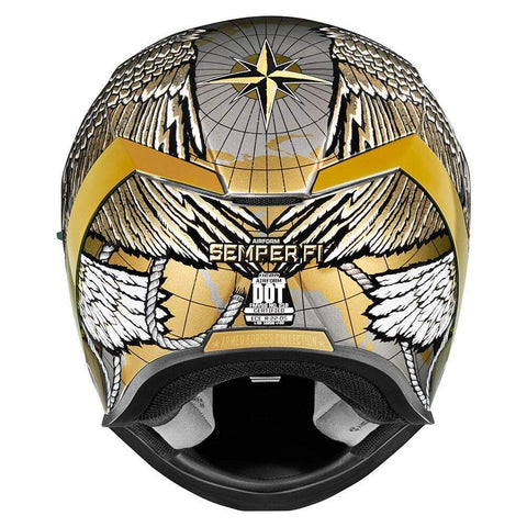 Icon Helmets Icon Airform SemperFi Motorcycle Helmet