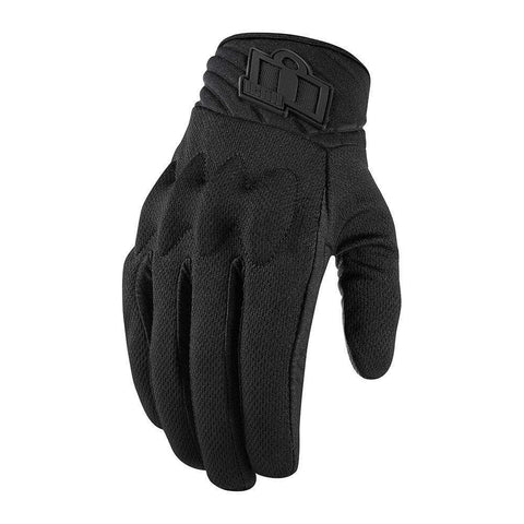 Icon Gloves Icon Anthem 2 Touchscreen Stealth Motorcycle Gloves