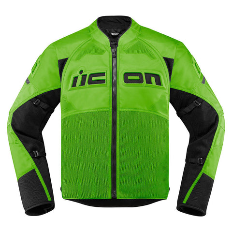 Image of Icon Jackets S / GRN Icon Contra2 Motorcycle Jacket
