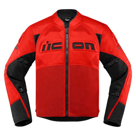Image of Icon Jackets S / RED Icon Contra2 Motorcycle Jacket