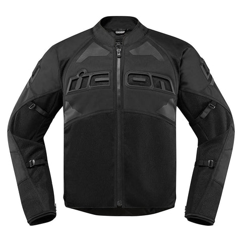 Image of Icon Jackets S / STEALTH Icon Contra2 Motorcycle Jacket