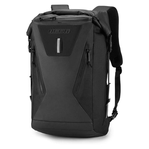 Image of Icon Bags and Packs Black Icon Dreadnaught Backpack