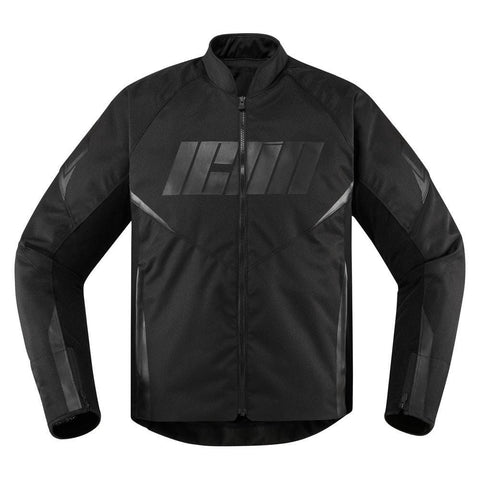 Image of Icon Jackets S / BLACK Icon Hooligan Motorcycke Jacket