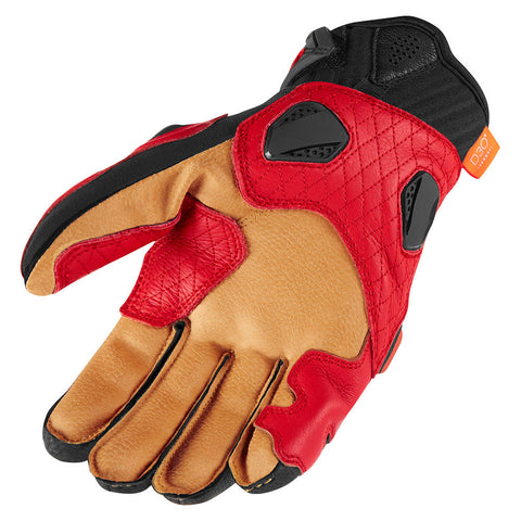 Image of Icon Gloves Icon Hypersport Motorcycle Gloves