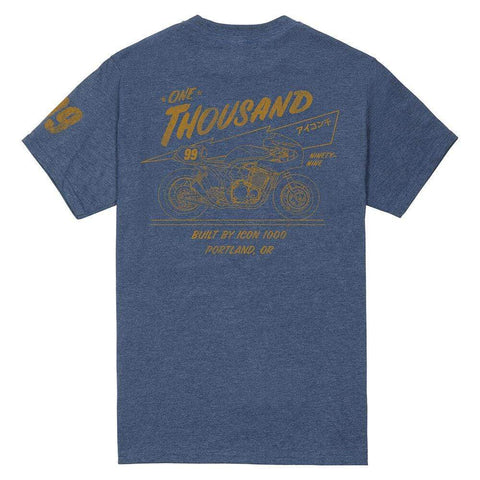 Icon Apparel S Icon 1000 Scotch Motorcycle Tee Shirt