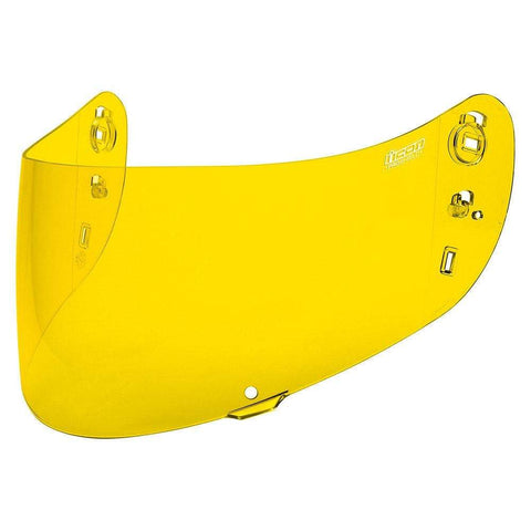 Image of Icon Shields Yellow Icon Optics shield for Airframe Pro, Airform and Airmada