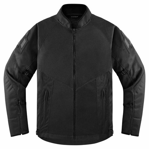 Image of Icon Jackets S / BLACK Icon Mesh AF Motorcycle Jacket