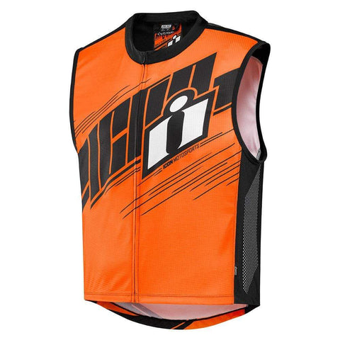 Image of Icon Vests Icon MIL-SPEC 2 - HI-VIZ Motorcycle Vest