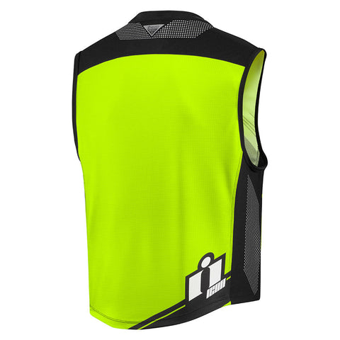Icon Vests Icon MIL-SPEC 2 - HI-VIZ Motorcycle Vest