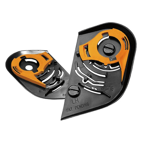 Image of Icon Accessories Alliance / Black Icon Helmet Shield Pivot Kits