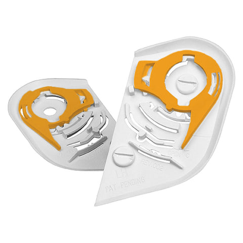 Image of Icon Accessories Alliance / White Icon Helmet Shield Pivot Kits