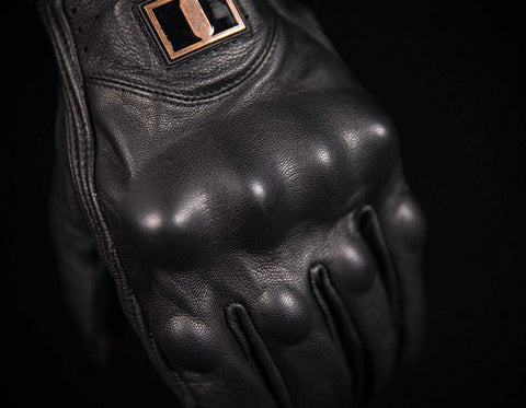 Image of Icon Gloves Icon Pursuit Classic Motorcycle Gloves